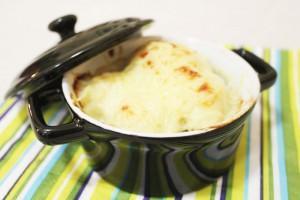 Гратен из цветной капусты с соусом «Бешамель»