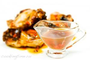 Лаймово-медовый острый соус
