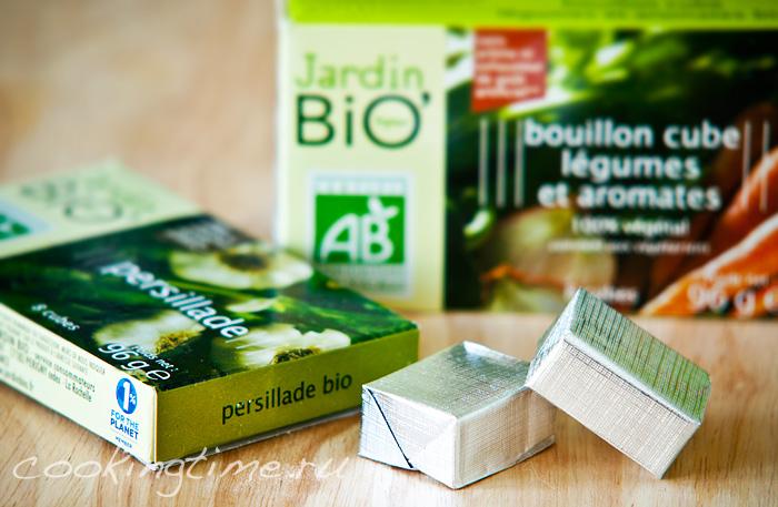 Овощные кубики Bio