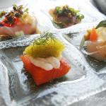 Ассорти из свежей рыбы. Crudo Bar