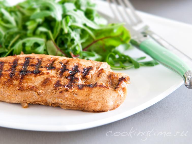 рецепт стейк из индейки на сковороде рецепт