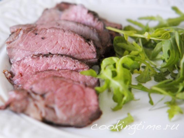ростбиф из говядины фото