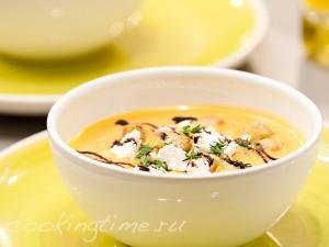 Крем-суп из тыквы - видеорецепт