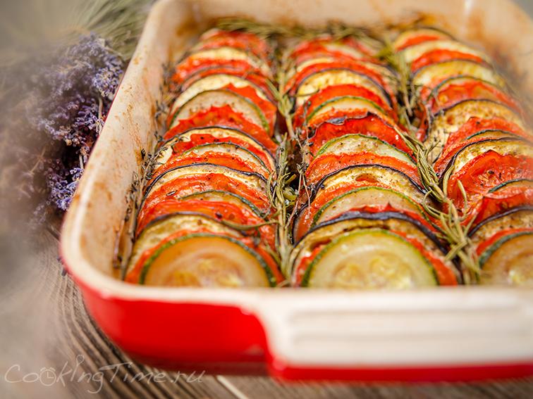 Овощной Тиан - Запеченные Овощи