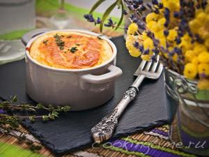 Кухня Прованса - Суфле из Козьего сыра