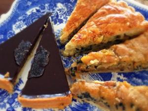Десерты с черным трюфелем