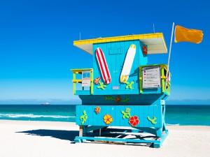 Спасательные вышки - Майами-Бич