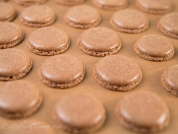 Шоколадно-Мятные Макарон