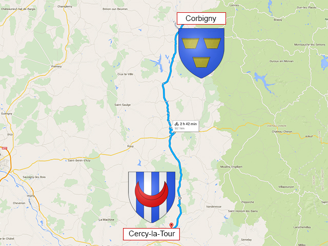 Corbigny - Cercy-la-Tour