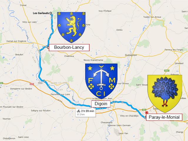 Cronat - Bourbon-Lancy - Paray-le-Monial