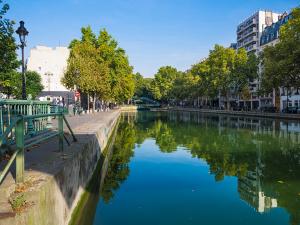 Канал Сен-Мартен, Париж