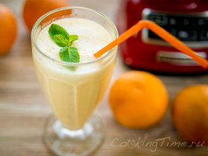 Апельсиново-Банановый Шейк