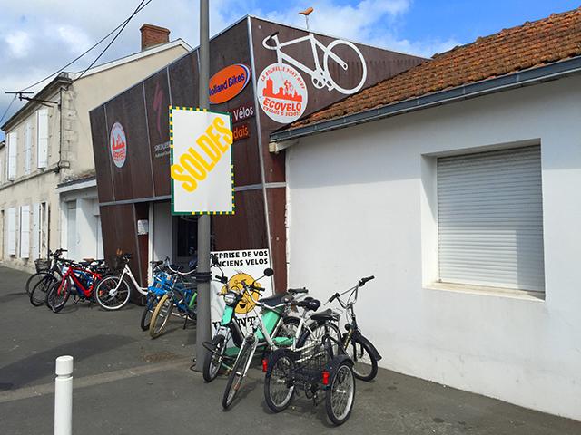 Прокат Ecovelo, La Rochelle