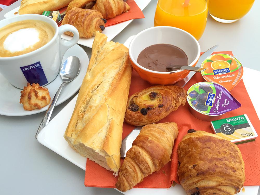 Завтрак в Captain'Ice - Ля Рошель