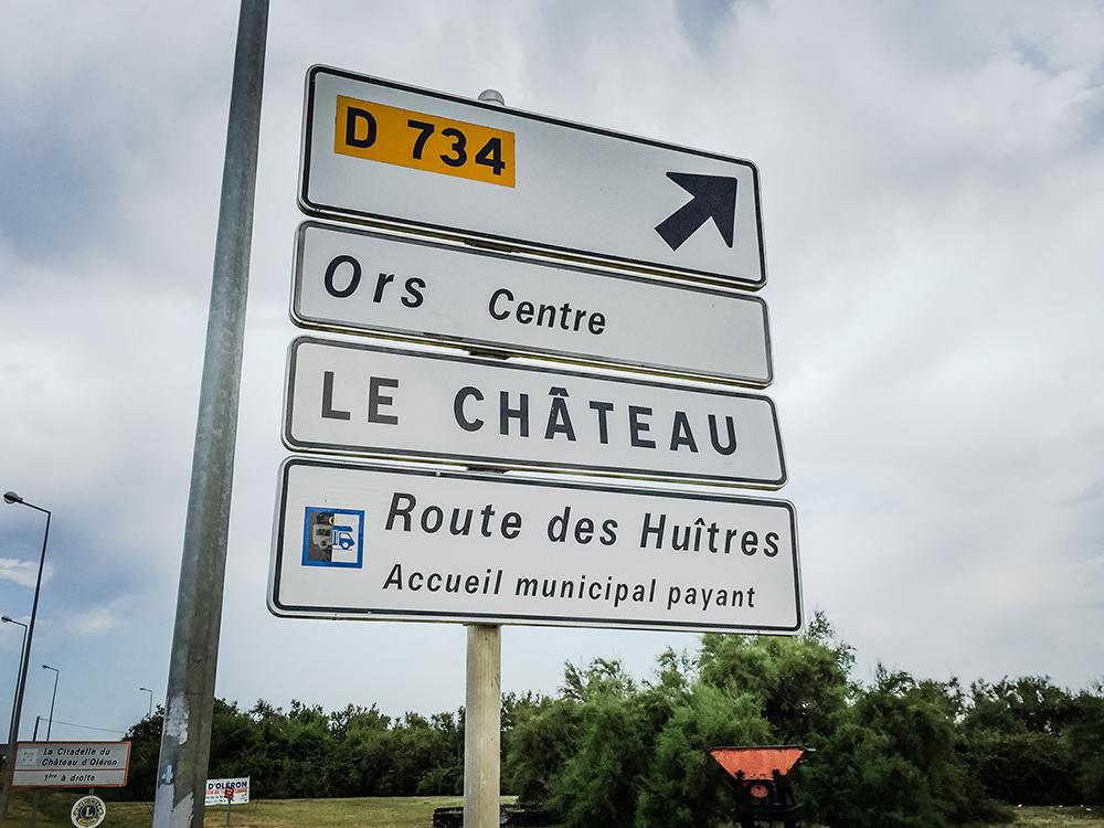 Route des Huîtres - Устричная Дорога