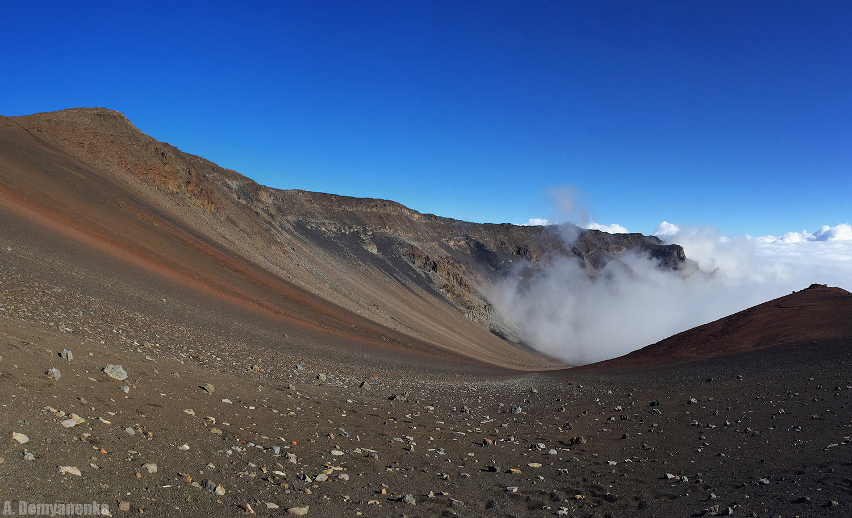 Остров Мауи - вулкан Халеакала