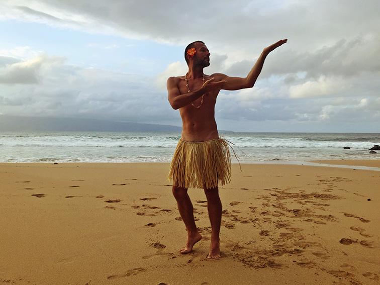 Прощальная гавайская хула