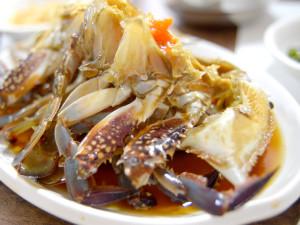 Ке-Чжан - краб, маринованный в соевом соусе