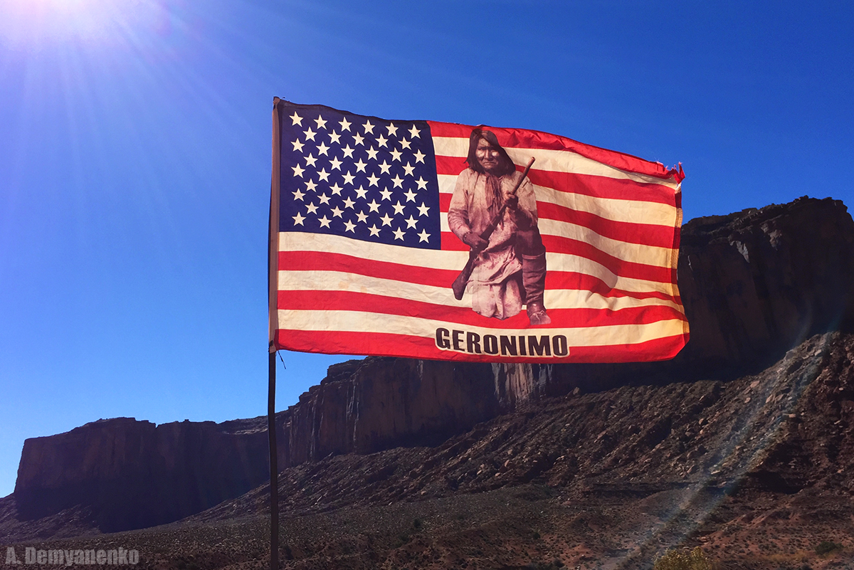 Джеронимо - борец за свободу земель апачей от американцев