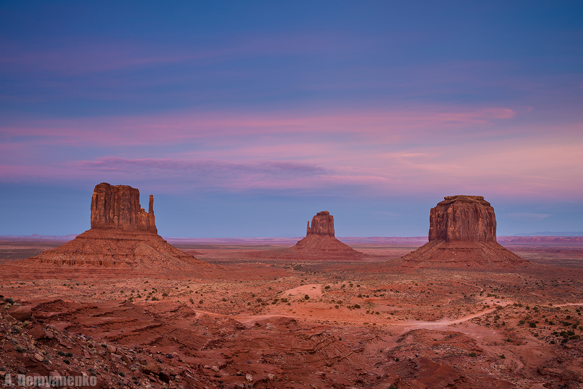 Долина Монументов — Monument Valley