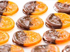 Апельсины в Шоколаде
