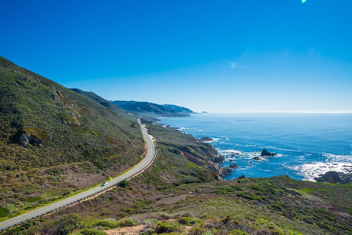 Калифорнийские просторы