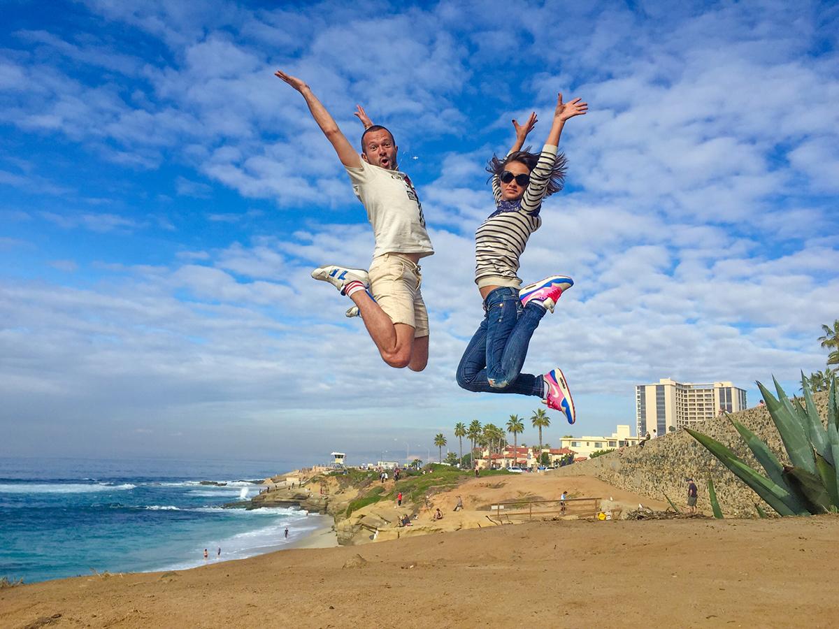 Финальный калифорнийский прыжок!:)))