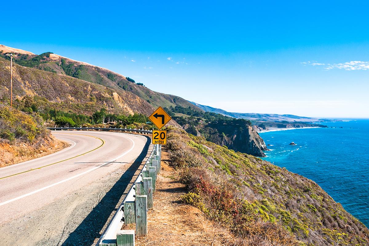 Первый Хайвей, Калифорния