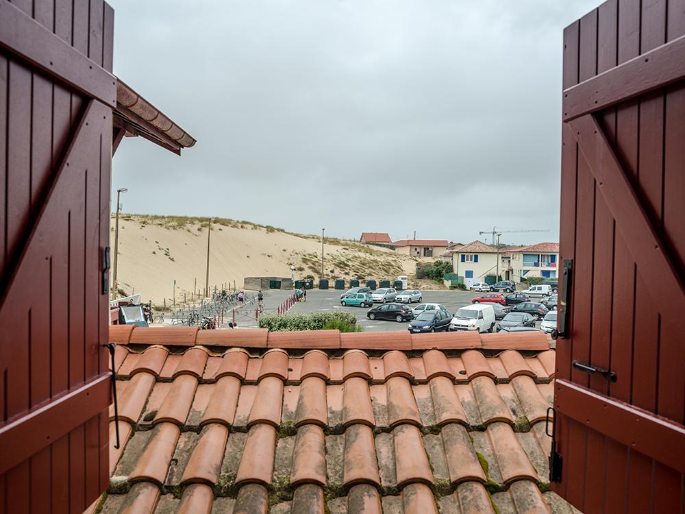 Вид из окна нашего отеля
