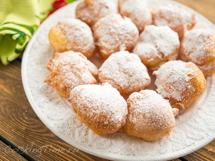 Заварные пончики Бенье - Beignets