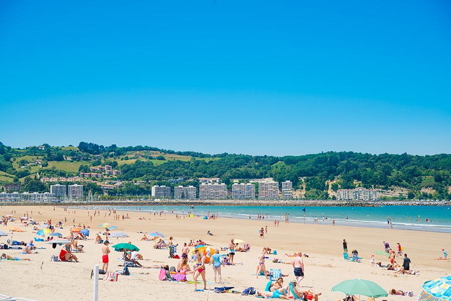 Пляж в Андай
