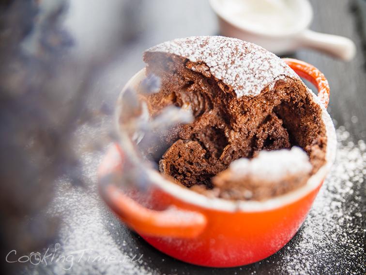 Шоколадное Суфле -Chocolate Souffle