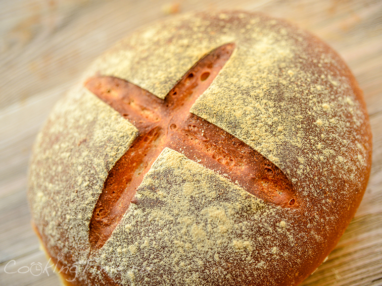 Хлеб в духовке простой рецепт