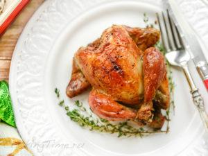 Курица с Тимьяном и Чесноком