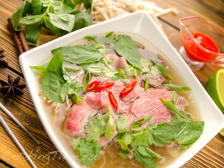 Вьетнамский Суп Фо Бо - Pho Bo