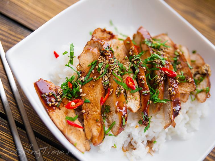 Курица Терияки - Teriyaki Chicken