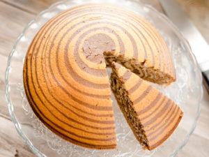 Кекс Зебра - Zebra Cake