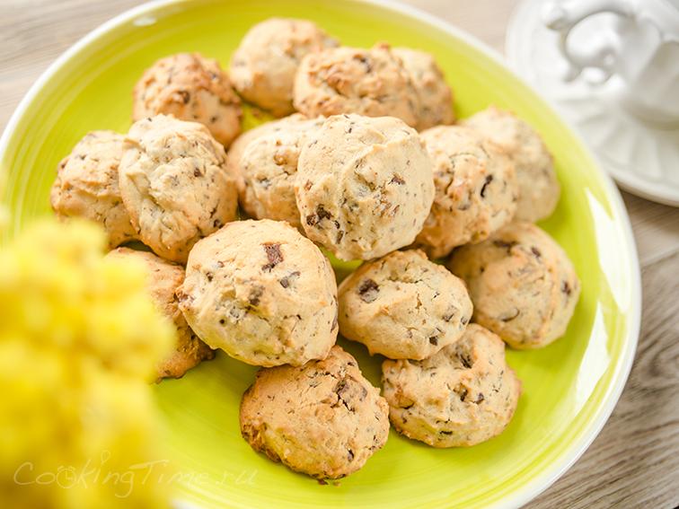 Печенье с Орехами и Шоколадом - ШокОреховое Печенье