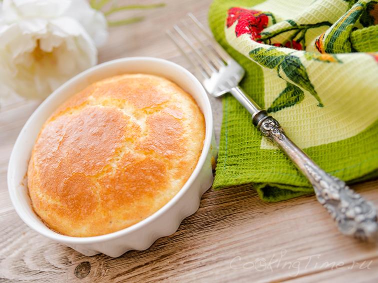 Омлет Суфле с Сыром - Omelet Soufflé