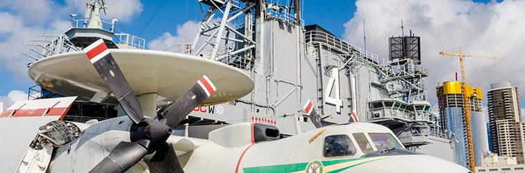 Авианосец USS Midway — Сан-Диего, Калифорния