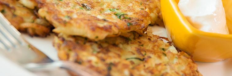 Картофельные Оладьи — Драники — Potato Pancakes