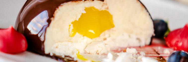 Муссовое Пирожное | Белый Шоколад + Лимонный Курд